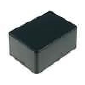 Krabička univerzální 1591 X:56mm Y:85mm Z:39mm ABS černá IP54