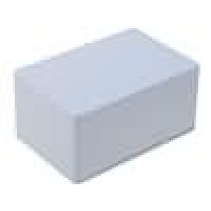 Krabička univerzální 1591 X:80mm Y:120mm Z:59mm ABS šedá IP54