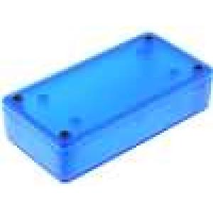 Krabička univerzální 1591 X:51mm Y:100mm Z:25mm ABS modrá IP54