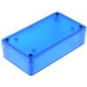 Krabička univerzální 1591 X:63mm Y:113mm Z:31mm ABS modrá IP54