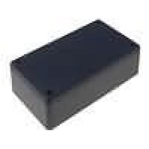 Krabička univerzální 1591 X:66mm Y:121mm Z:37mm ABS černá IP54