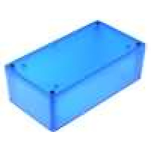 Krabička univerzální 1591 X:82mm Y:152mm Z:50mm ABS modrá IP54