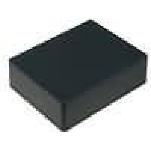 Krabička univerzální 1591 X:94mm Y:121mm Z:33mm ABS černá IP54