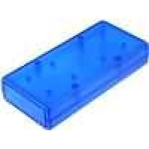 Krabička univerzální 1593 X:66mm Y:140mm Z:28mm ABS modrá