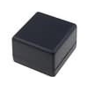 Krabička univerzální 1594 X:56mm Y:56mm Z:40mm ABS černá 4 vruty