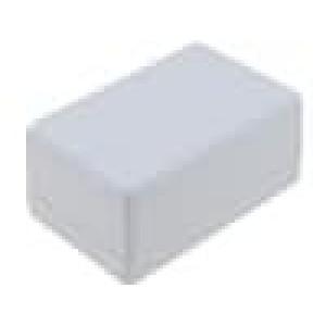 Krabička univerzální 1594 X:56mm Y:81mm Z:40mm ABS černá 4 vruty