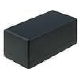 Krabička univerzální 1594 X:66mm Y:131mm Z:55mm polystyrén černá