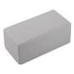 Krabička univerzální 1594 X:66mm Y:131mm Z:55mm polystyrén šedá