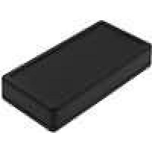 Krabička univerzální 1599 X:65mm Y:130mm Z:25mm ABS černá IP54
