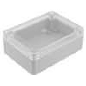 Krabička univerzální 1085 X:75mm Y:105mm Z:40mm polykarbonát