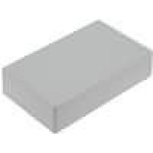Krabička univerzální X:36mm Y:60mm Z:15mm ABS šedá