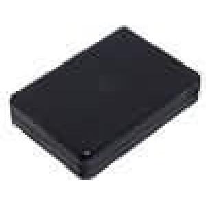 Krabička univerzální X:60mm Y:84mm Z:22mm ABS černá