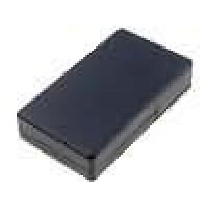 Krabička univerzální X:62,5mm Y:108,5mm Z:24,8mm ABS černá