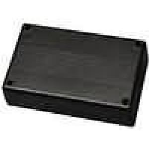 Krabička univerzální X:82mm Y:131,5mm Z:35mm ABS černá