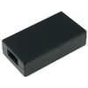 Krabička univerzální X:34,5mm Y:62mm Z:16mm ABS černá
