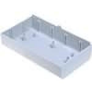Krabička univerzální X:70mm Y:123mm Z:25,5mm ABS šedá