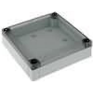 Krabička univerzální MNX X:130mm Y:130mm Z:35mm polykarbonát