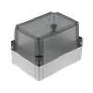 Krabička univerzální MNX X:130mm Y:180mm Z:125mm polykarbonát