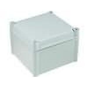 Krabička univerzální SOLID X:188mm Y:188mm Z:130mm polykarbonát
