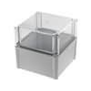 Krabička univerzální SOLID X:188mm Y:188mm Z:180mm polykarbonát