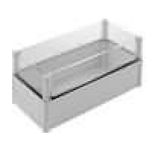 Krabička univerzální SOLID X:188mm Y:378mm Z:180mm polykarbonát