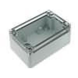 Krabička univerzální EURONORD X:80mm Y:120mm Z:55mm polykarbonát