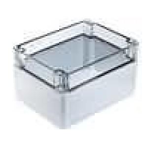 Krabička univerzální EURONORD X:120mm Y:160mm Z:90mm šedá IK08