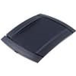 Krabička univerzální X:130mm Y:172mm Z:25mm ABS černá