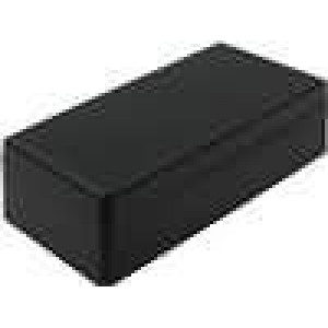 Krabička univerzální X:73mm Y:153mm Z:43mm ABS černá