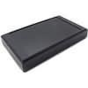 Krabička univerzální X:112mm Y:200mm Z:31mm ABS černá