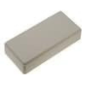 Krabička univerzální X:55mm Y:121mm Z:31mm ABS šedá