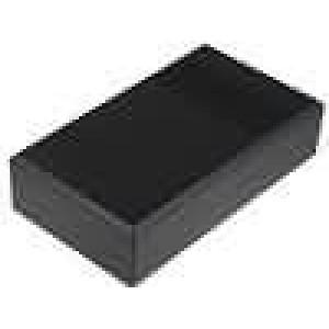 Krabička univerzální větraná X:112mm Y:200mm Z:51mm ABS černá