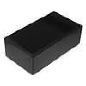 Krabička univerzální větraná X:112mm Y:200mm Z:71mm ABS černá