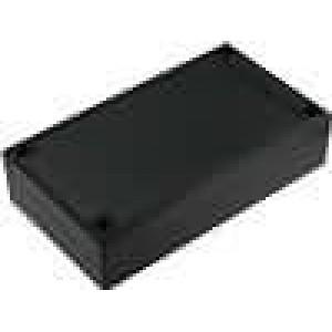 Krabička univerzální X:112mm Y:200mm Z:51mm ABS černá