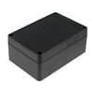 Krabička univerzální X:85mm Y:125mm Z:56mm ABS černá