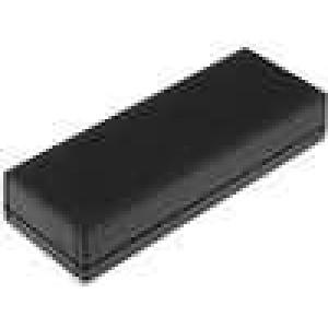 Krabička univerzální X:47mm Y:127mm Z:23mm ABS černá