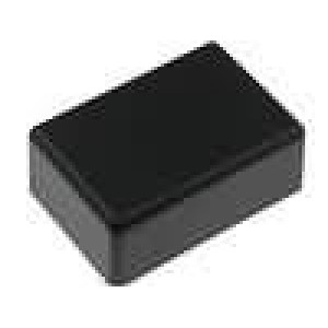 Krabička univerzální X:31mm Y:45mm Z:20mm ABS černá
