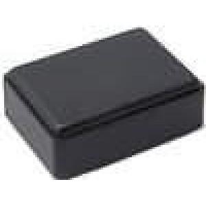 Krabička univerzální X:36mm Y:51mm Z:20,4mm ABS černá