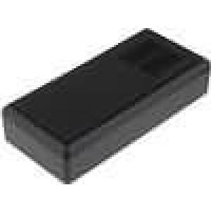 Krabička univerzální větraná X:61mm Y:131mm Z:28mm ABS černá