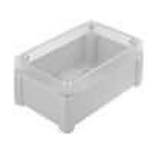 Krabička univerzální TEMPO X:122mm Y:187mm Z:90mm ABS šedá IP65