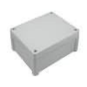 Krabička univerzální TEMPO X:163mm Y:201mm Z:98mm ABS šedá IP65