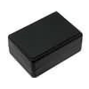 Krabička univerzální X:59,5mm Y:84mm Z:37mm polystyrén černá
