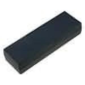 Krabička univerzální X:59,5mm Y:186mm Z:38,5mm polystyrén černá
