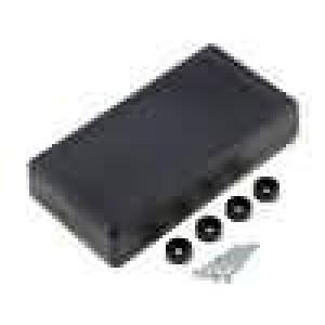 Krabička univerzální X:67,5mm Y:129mm Z:28mm polystyrén černá