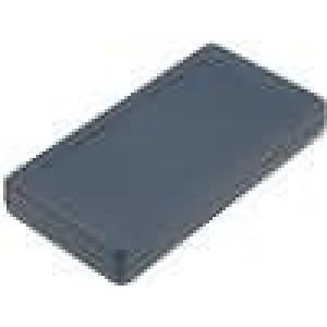 Krabička univerzální X:68mm Y:129mm Z:20mm polystyrén černá