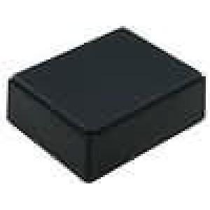 Krabička univerzální X:59mm Y:76mm Z:27,5mm polystyrén černá