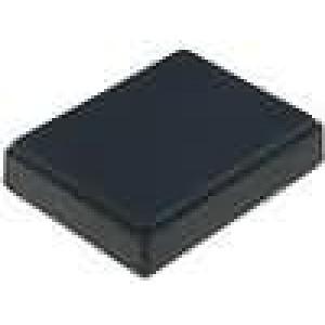 Krabička univerzální X:59mm Y:76mm Z:17,5mm polystyrén černá