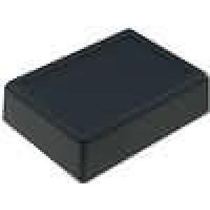 Krabička univerzální X:79,5mm Y:109mm Z:31,5mm polystyrén černá