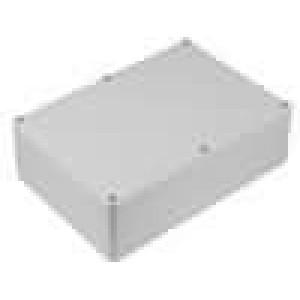 Krabička univerzální X:126mm Y:176mm Z:57,5mm polystyrén šedá