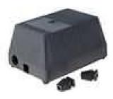 Kryt pro napájecí zdroj X:97mm Y:137mm Z:67mm ABS černá